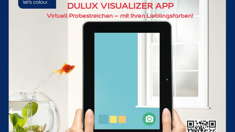 AkzoNobel Dulux Visualizer Social Media Content Relations