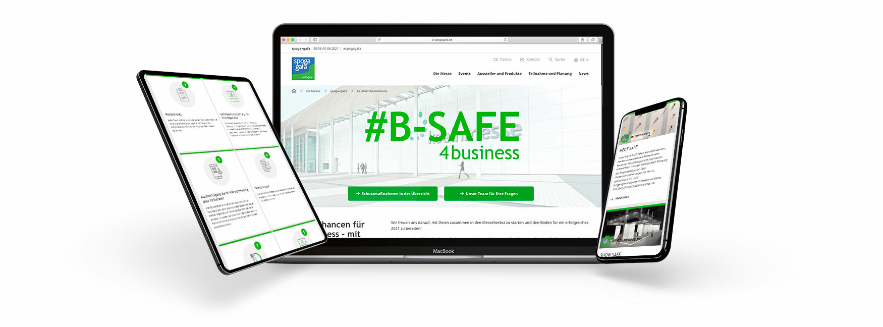 Campaigns B-SAFE4business Koelnmesse