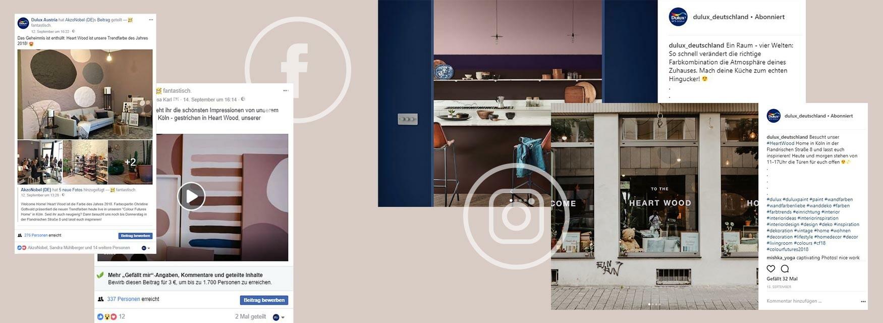 Screenshot Trendfarbe AkzoNobel Content Relations Social Media