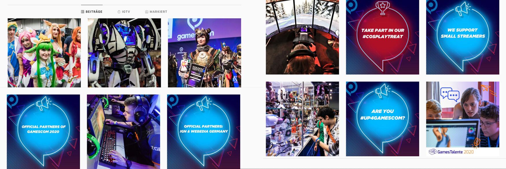 Content Relations Social Media gamescom